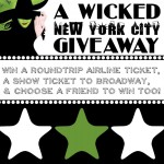 WIN a trip to NY and to see Wicked!!