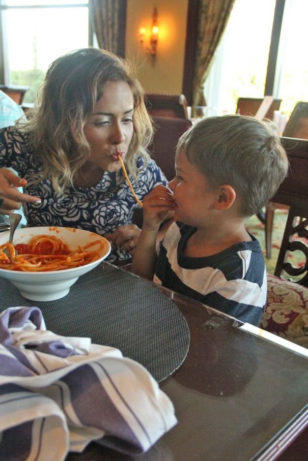 spaghetti mommy and wes