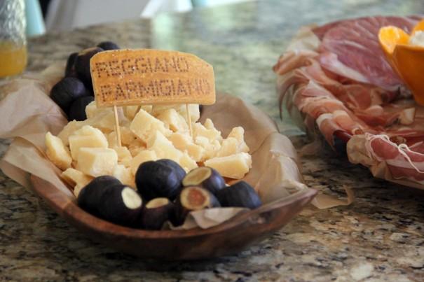 italian appetizer plate