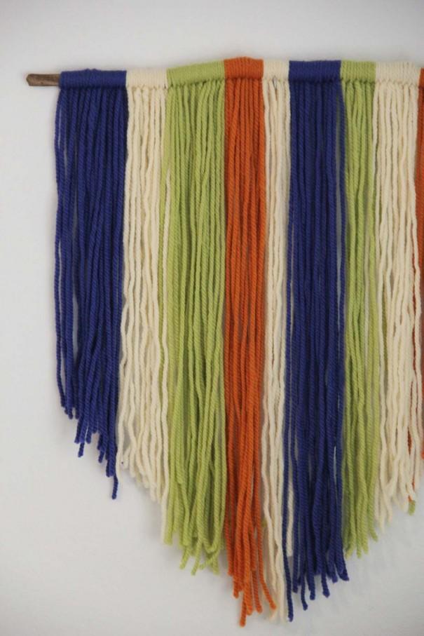 yarn art close up