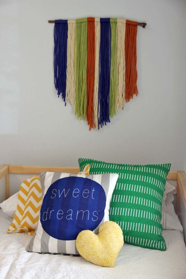 yarn wall art