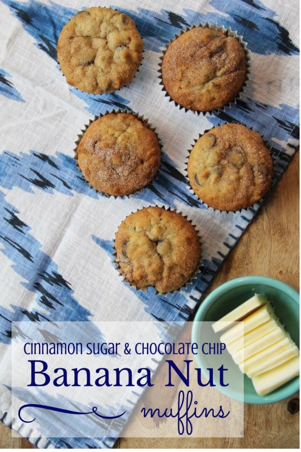 chocolate chip banana nut muffins recipe the best