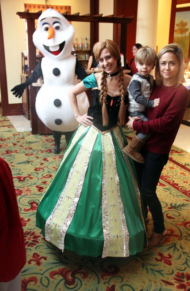 frozen character breakfast