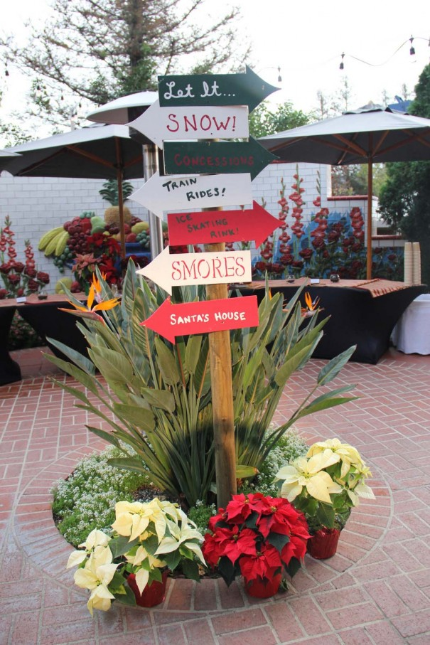 let it snow event signs