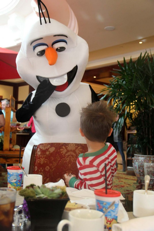 wes and olaf
