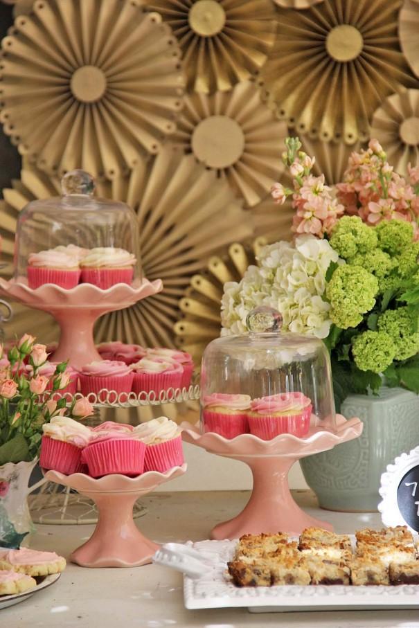 dessert table bridal shower