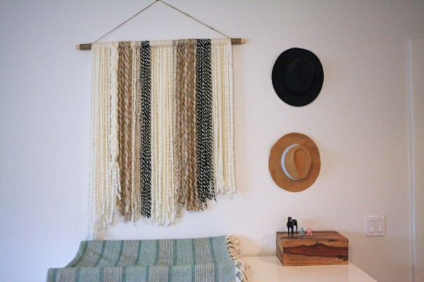 3-yarn wall art weaving