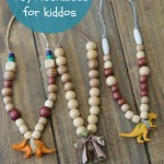 DIY Beaded Toy Necklaces Title