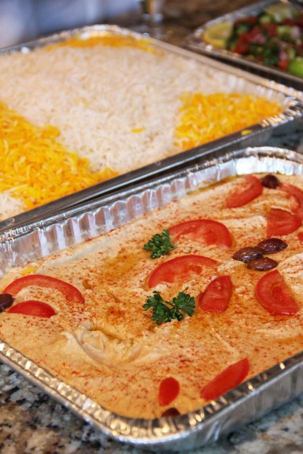 hummus and rice