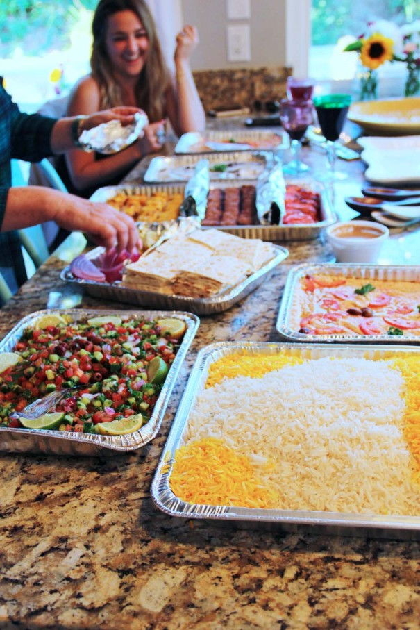 persian food catered