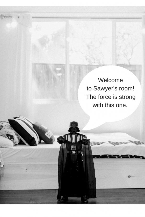 Welcome to Sawyers room