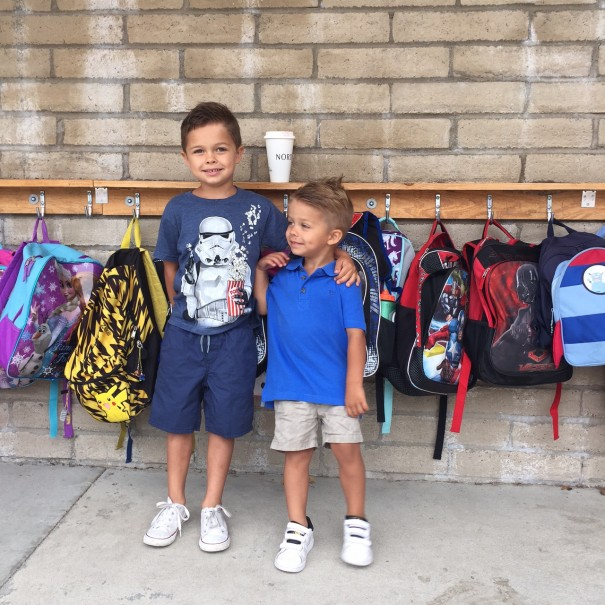 wes 1st day of KG