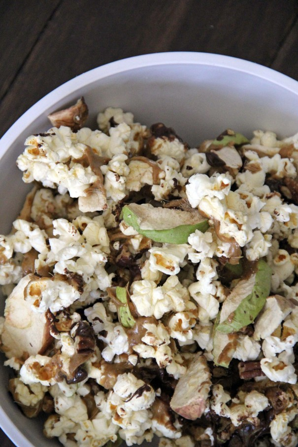 toffee apple popcorn recipe