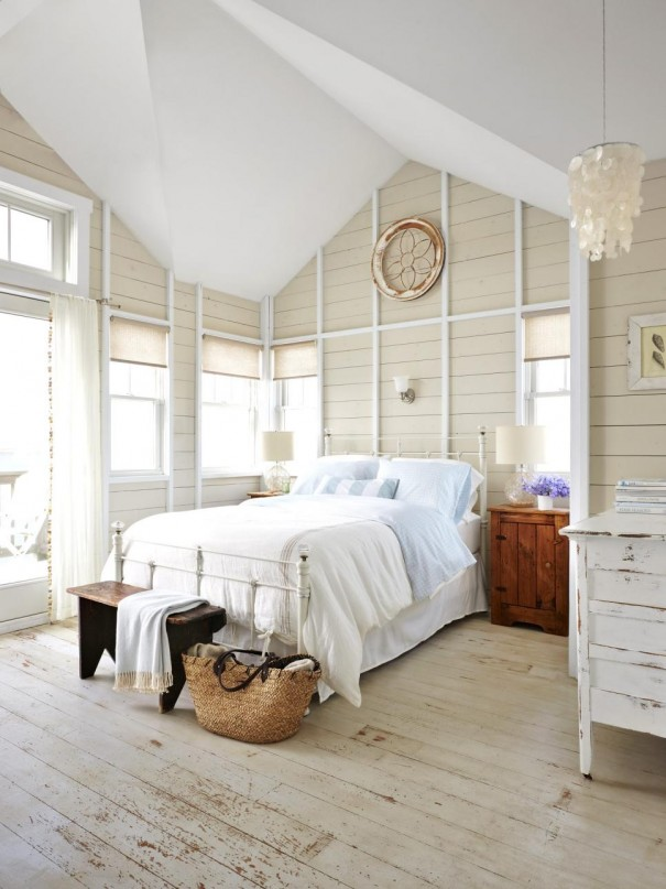 Tiny Home Designs: Decor Inspiration: Country Cottage Master Bedroom Decor