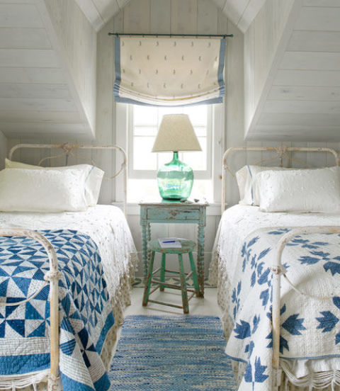 Decor Inspiration: Country Cottage Master Bedroom Decor