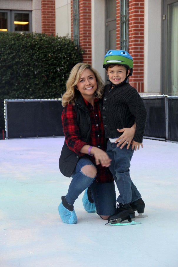 wes and mom