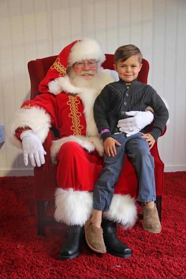 wes and santa