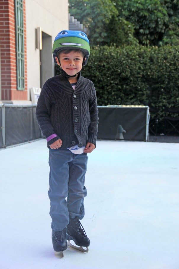 wes ice skating