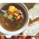 Easy Beef and Vegetable Rainy Day Soup Recipe