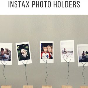 DIY INSTAX Photo Holders